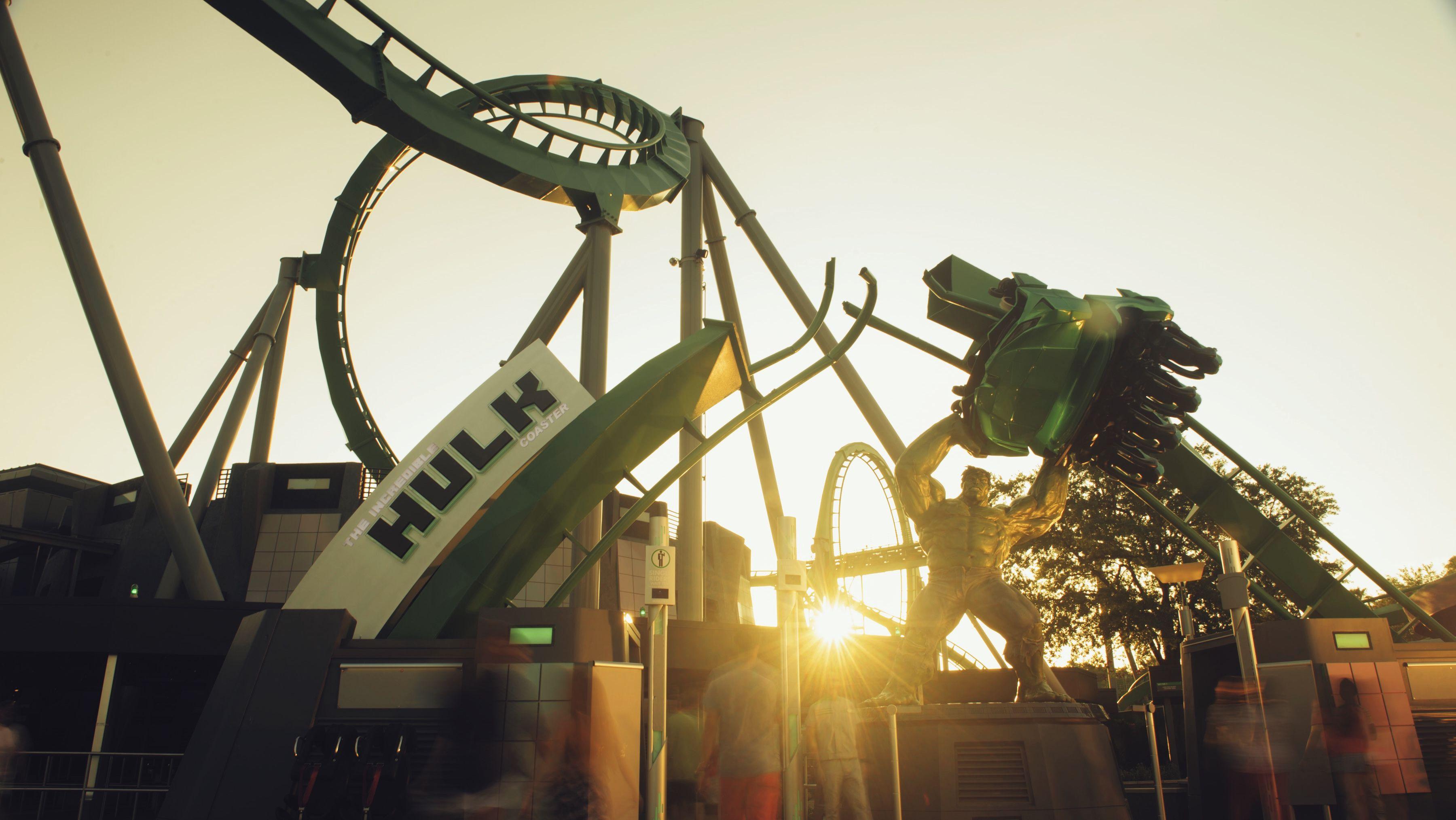 The Hulk in Universal Orlando